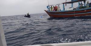 نجات جان ۲۵ صیاد سیستانی از غرق شدگی در دریا