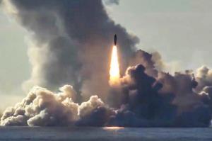 آزمایش موشک کروز مافوق صوت توسط روسیه