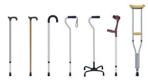 چگونه عصای طبی مناسب انتخاب کنیم؟