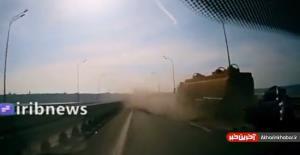 راننده مست 4 سرنشین خودروی سواری را زیر گرفت