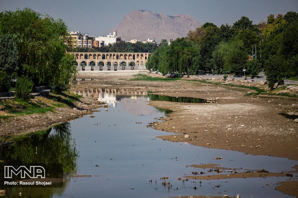 عکس/ زاینده رودی که دیگر نیست