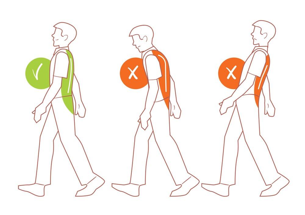 اينفوگرافي/ 9 عادت اشتباه در راه رفتن که به سلامتي تان آسيب مي زند
