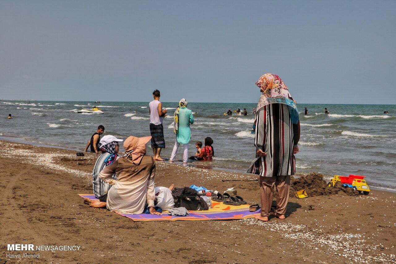 عکس/ شنا در کرونا