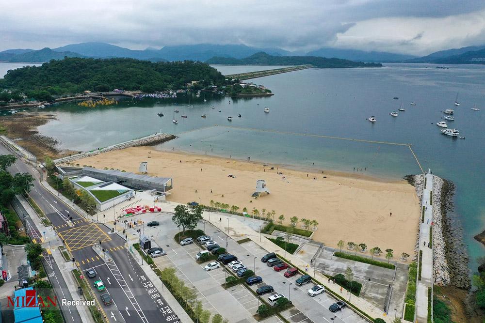 جدیدترین ساحل مصنوعی هنگ کنگ