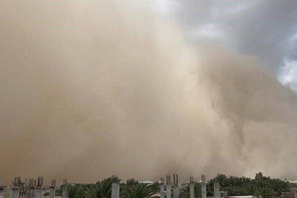 طوفان در استان فارس رفتوآمد را مختل کرد