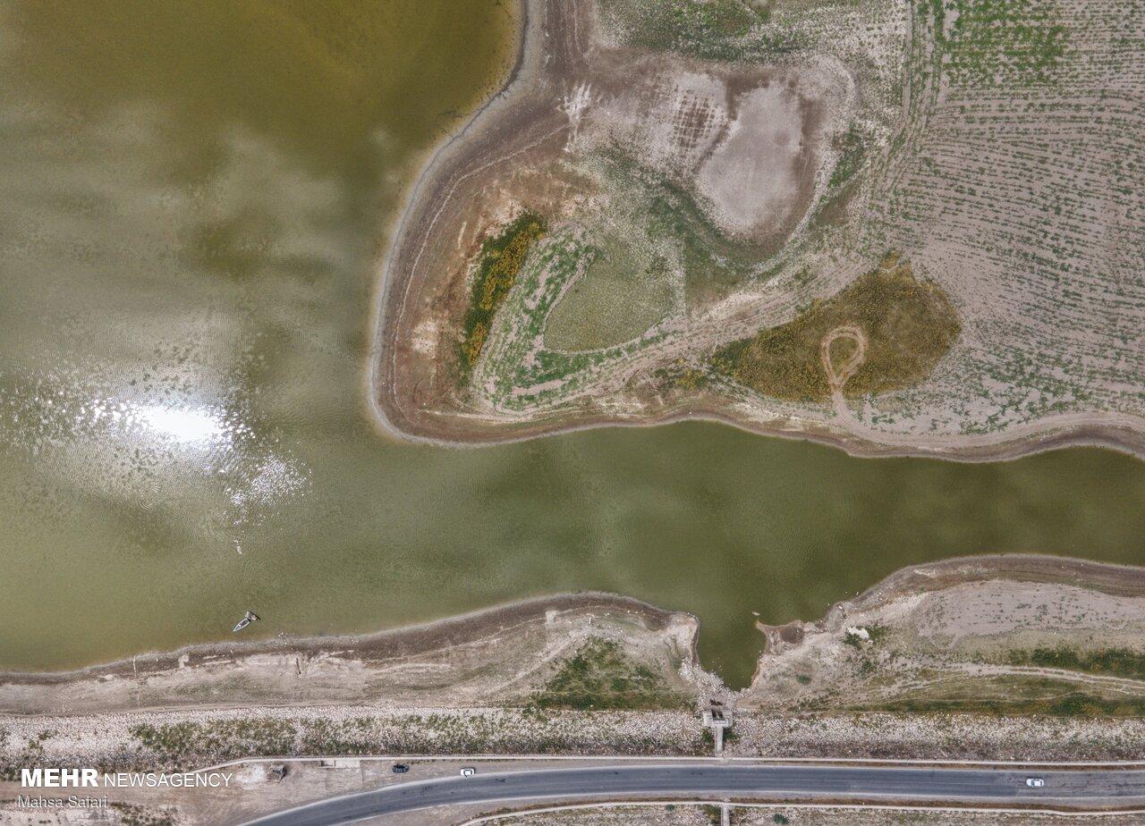 عکس/ فاجعه در گلستان؛ منابع آبی خشک شد