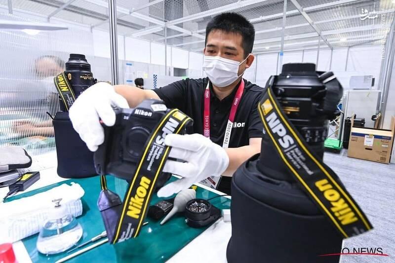 امانت تجهیزات عکاسی به عکاسان در المپیک توکیو