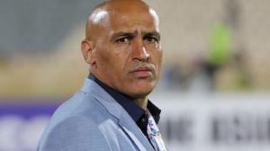 گلایه منصوریان از داور چهارم بازی آلومینیوم-تراکتور
