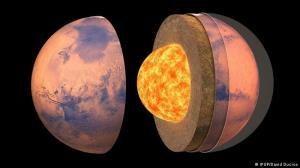 برای اولین بار ساختار درون مریخ مشخص شد