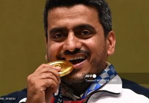 شادی ویژه جواد فروغی پس از دریافت مدال طلا