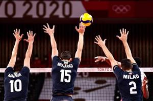 والیبال المپیک/ ایران بالاتر از کانادا و لهستان
