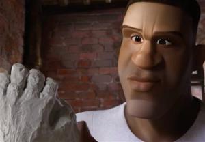 بسکتبالیست مشهور آمریکایی انیمیشن میسازد
