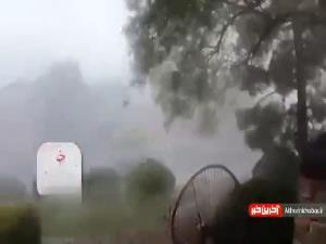 طوفان قدرتمند، لاس وگاس را درنوردید