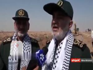 سرلشکر سلامی: خوزستان برای ما مقدس است
