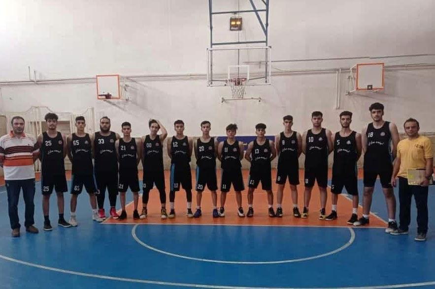 تيم بسکتبال کردستان قهرمان مسابقات ليگ نخبگان زير ۱۸ سال منطقهاي شد