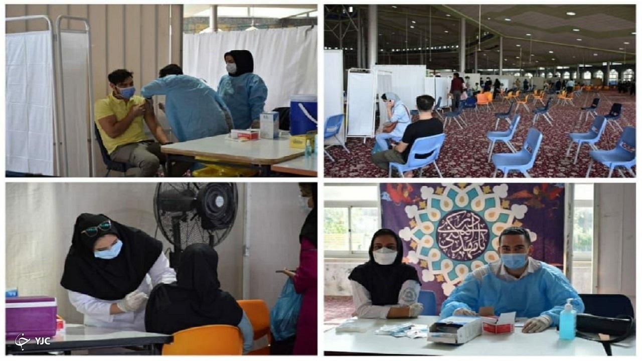 بزرگترین مرکز واکسیناسیون استان مرکزی آغاز به کار کرد