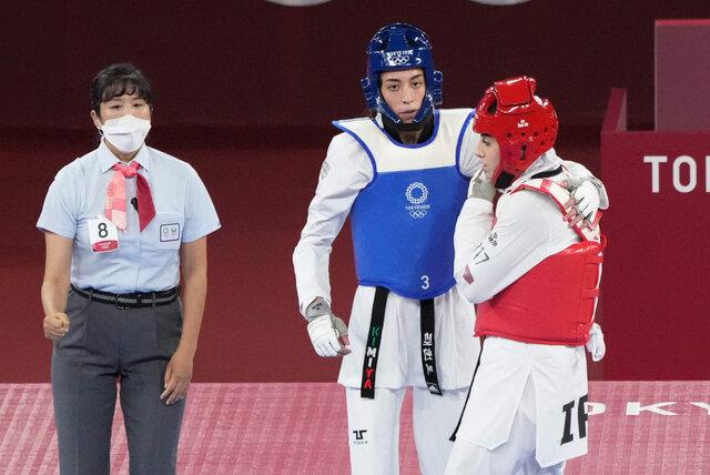 کيميا عليزاده به مدال المپيک توکيو نرسيد