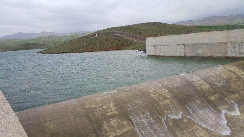 حجم آب سد چری فاروج خراسان شمالی ۵۶ درصد کاهش یافت