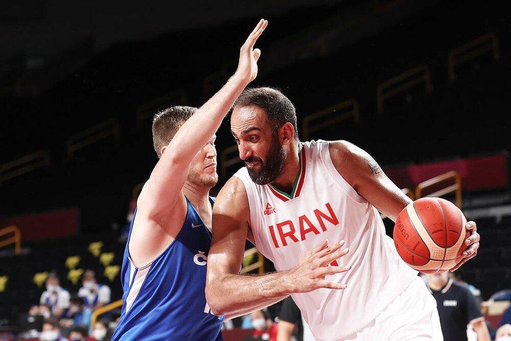 شکست بسکتبال ایران مقابل جمهوریِ چک در گام نخست