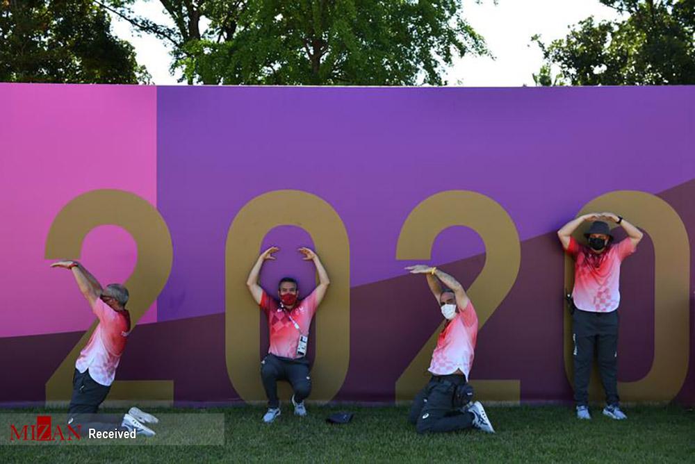 تصاویری جالب از حاشیههای برگزاری مسابقات المپیک توکیو