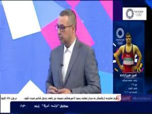 اشتباه عجیب مجری: ایران قهرمان المپیک شده است!