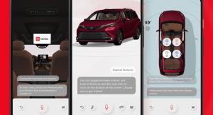 همکاری تویوتا و گوگل برای ایجاد یک دفترچه راهنمای دیجیتال و هوشمند برای خودروها