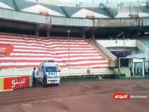 حالوهوای ورزشگاه آزادی پیش از آغاز بازی پرسپولیس - تراکتور