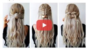 آموزش بافت مو با مدل های زیبا و ساده