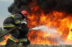 آتشسوزی در کارخانه سیمان شهرکرد
