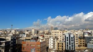 کیفیت هوای تهران در شرایط سالم است