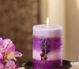 بدون نیاز به قالب شمع های رنگی بسازید