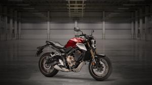 نمای کوتاهی از موتورسیکلت جدید «هوندا»