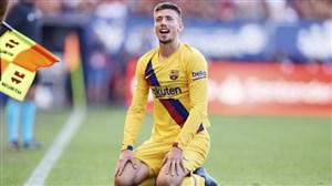 تصمیم قطعی مدافع بارسلونا مشخص شد