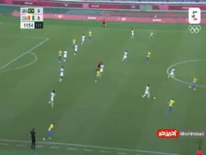 خلاصه بازی برزیل - ساحل عاج
