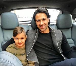 چهره ها/ عکس پدر و پسری سرمربی محبوب استقلال