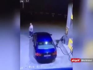 میخواست پول بنزین رو نده ولی آشو با جاش برد
