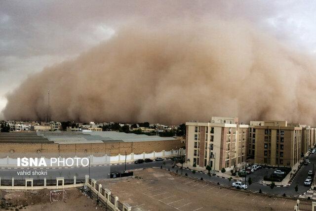 پیشبینی وقوع طوفان شن در سه استان