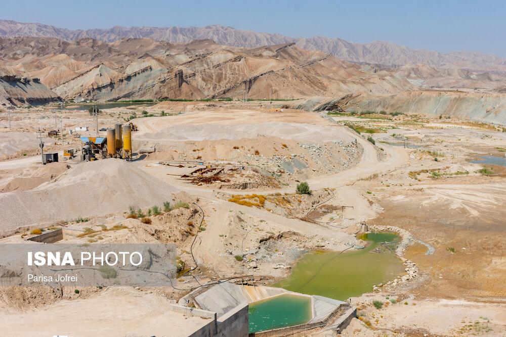 عکس/ افتتاح و آبگیری دو سد «خاییز» و «ارغون» در بوشهر