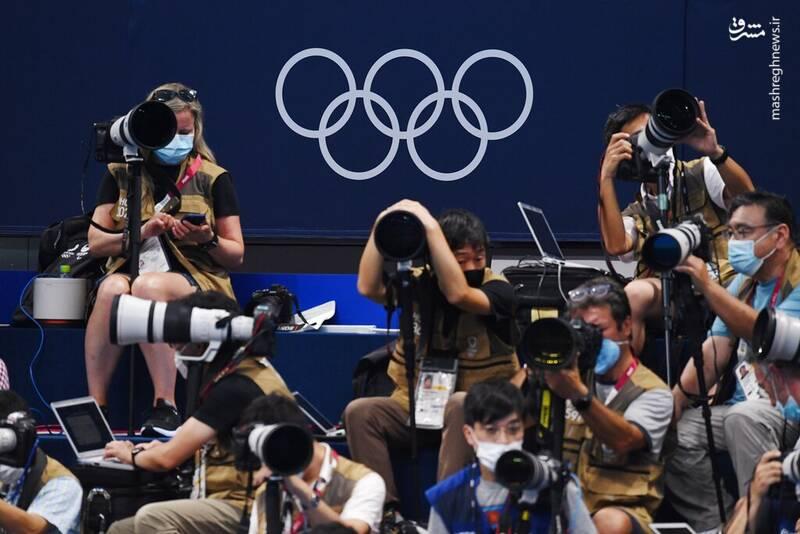 تصاویری جالب از عکاسان در مسابقات المپیک ۲۰۲۰