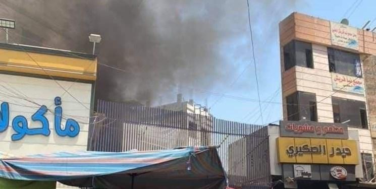 آتشسوزي در کاظمين عراق
