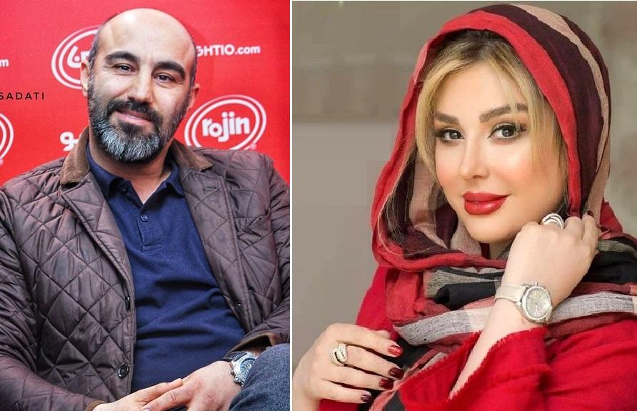 گریم جادویی محسن تنابنده و نیوشا ضیغمی در نقش جنس مخالف