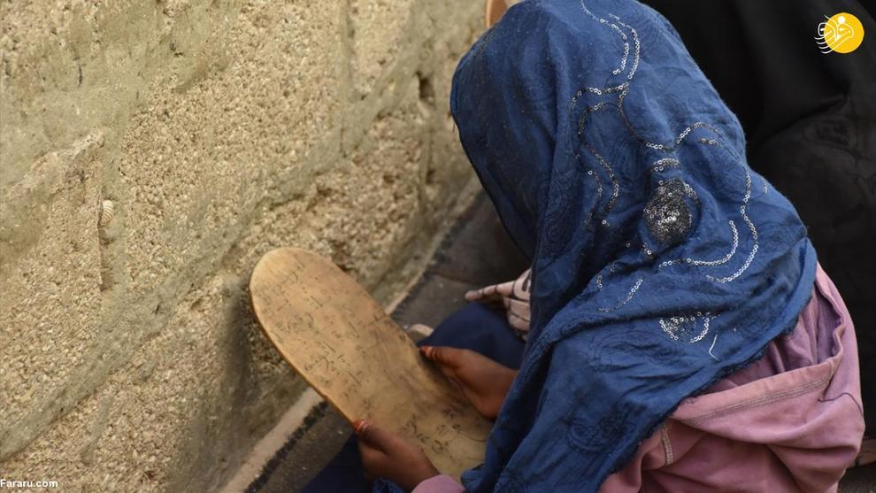 کودکانی که با تخته چوبی حافظ قرآن میشوند