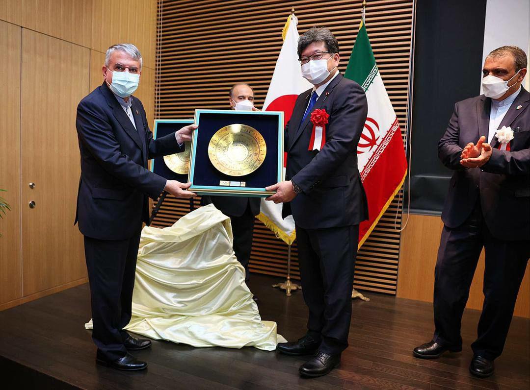 عکس/ حضور وزیر فرهنگ و علوم ژاپن در سفارت کشور ایران