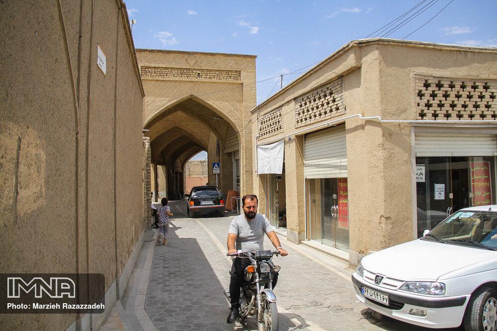 محله تاریخی «جویباره» در اصفهان