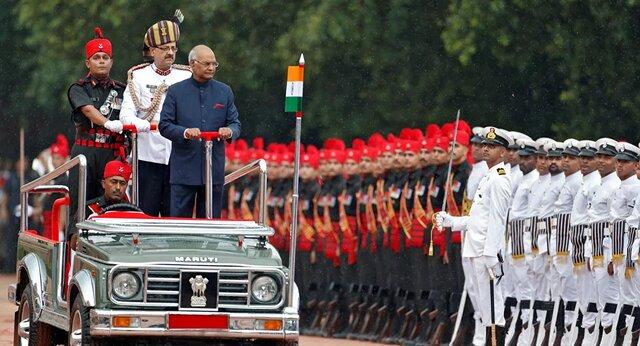 رئيسجمهور هند به مراسم يادبود سربازان نرفت