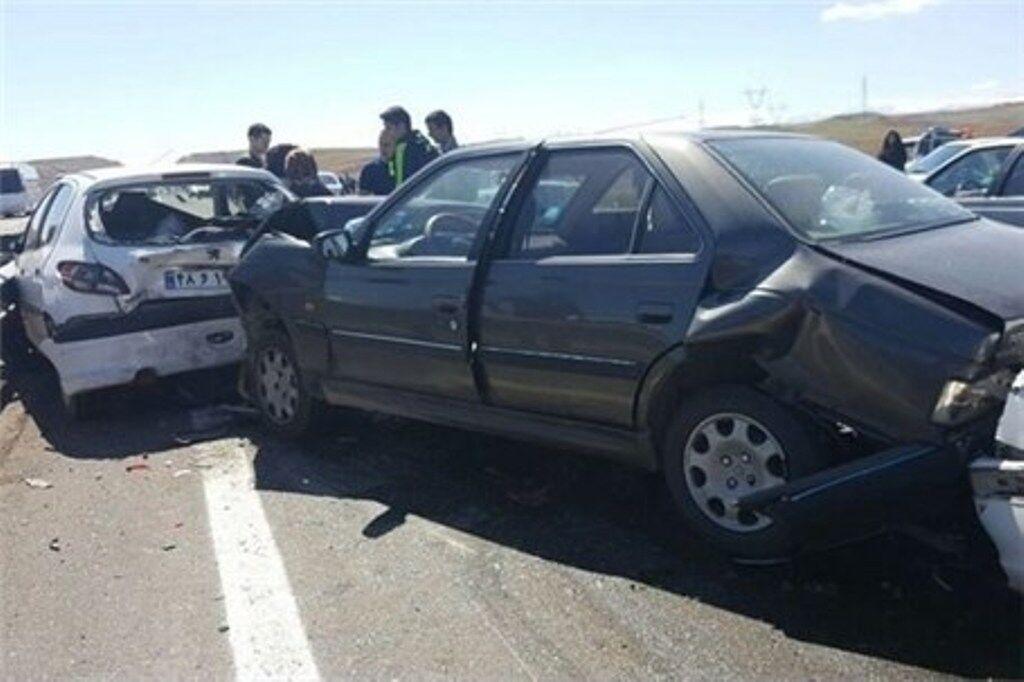 تصادف زنجيرهاي در تيران ۸ کشته و مصدوم برجاگذاشت
