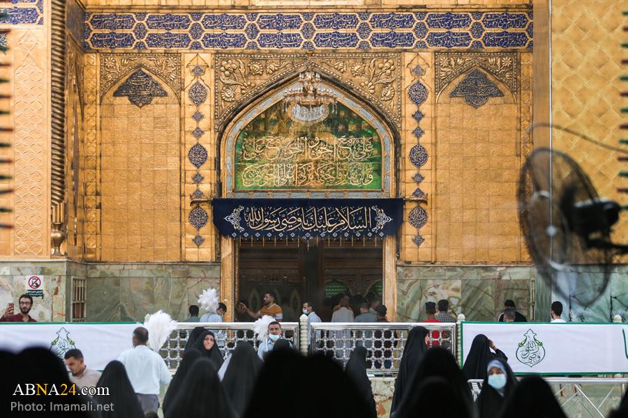 عکس/ حال و هوای حرم امام علی(ع) در آستانه عید غدیر