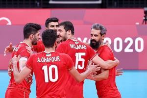 المپیک ۲۰۲۰ توکیو؛ پیروزی یک طرفه والیبال ایران مقابل ونزوئلا