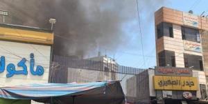 آتشسوزی در کاظمین عراق