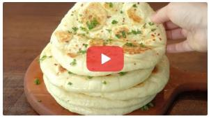 آموزش تهیه نان سبزی ژاپنی!
